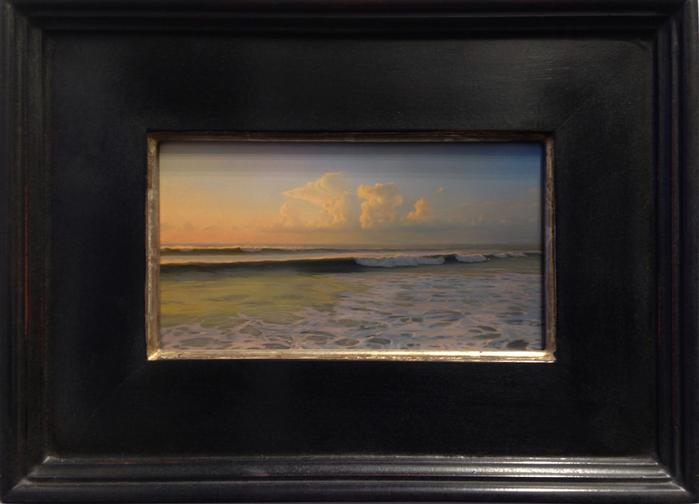 Matthew Cornell, Sea, 2017, Oil on panel