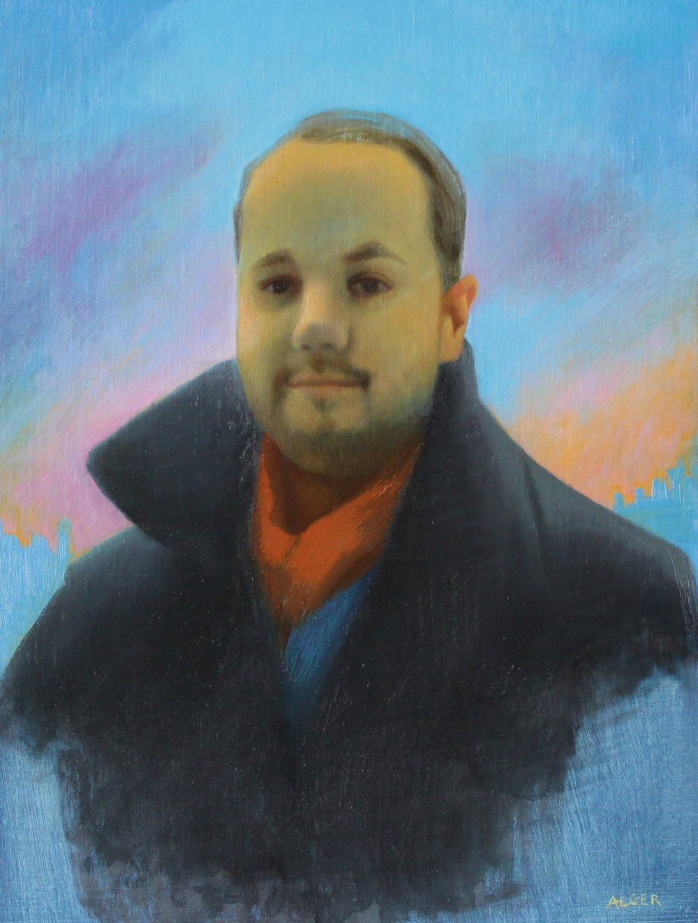 Portrait of Jason John by Nicole Alger