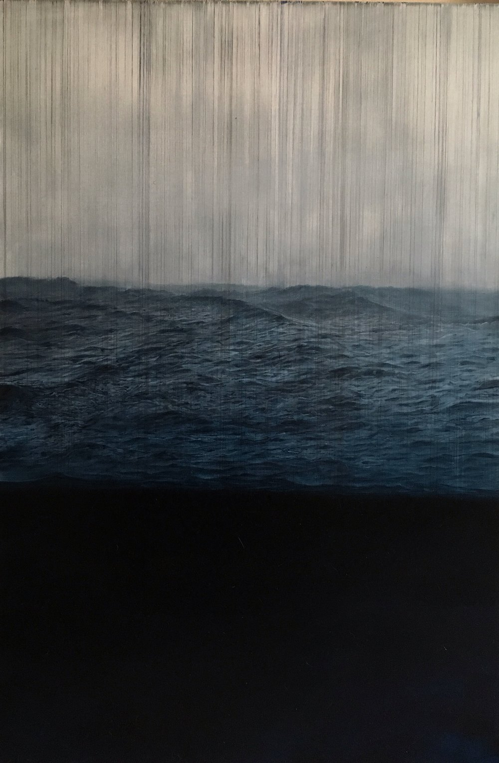 Flood | oil on canvas | 150x100 cm
