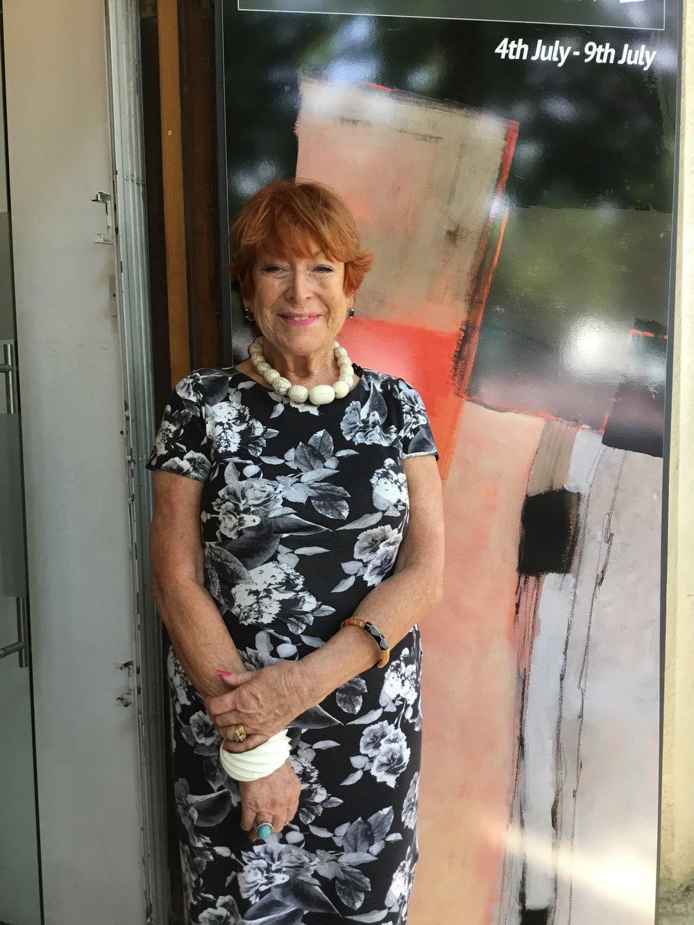 President of SWA Sue Jelley