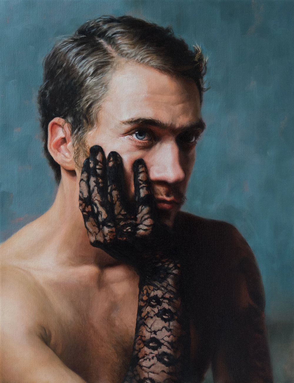 Alessandro Tomassetti   |   The Big Time   |  Oil on Linen  |  25 ½ x 19 ¾ inches or 64 ¾ x 50 cm
