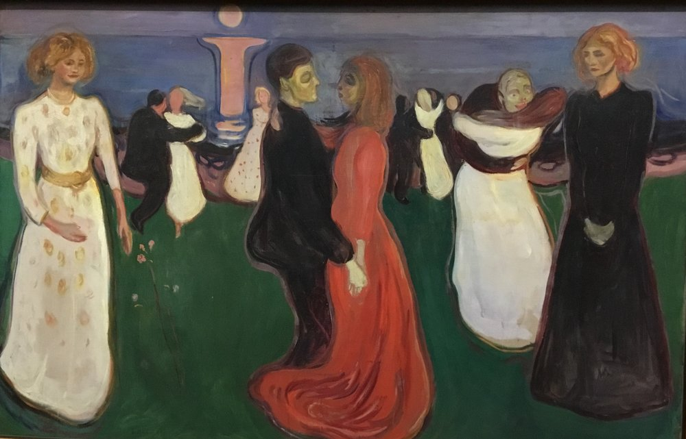 Edvard Munch, The dance of life, 1900