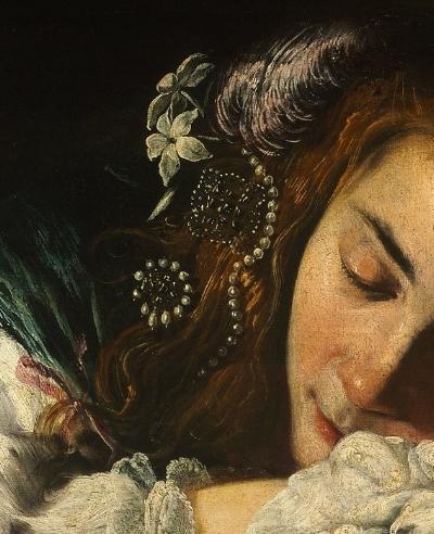 Sleeping Girl, Domenico Fetti
