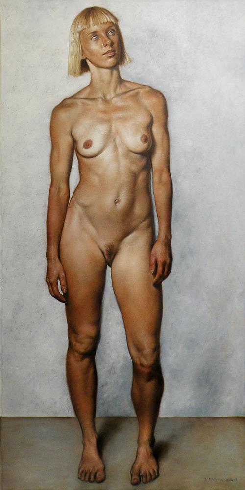 Daniel Maidman |  Manou  | oil on canvas | 72x36