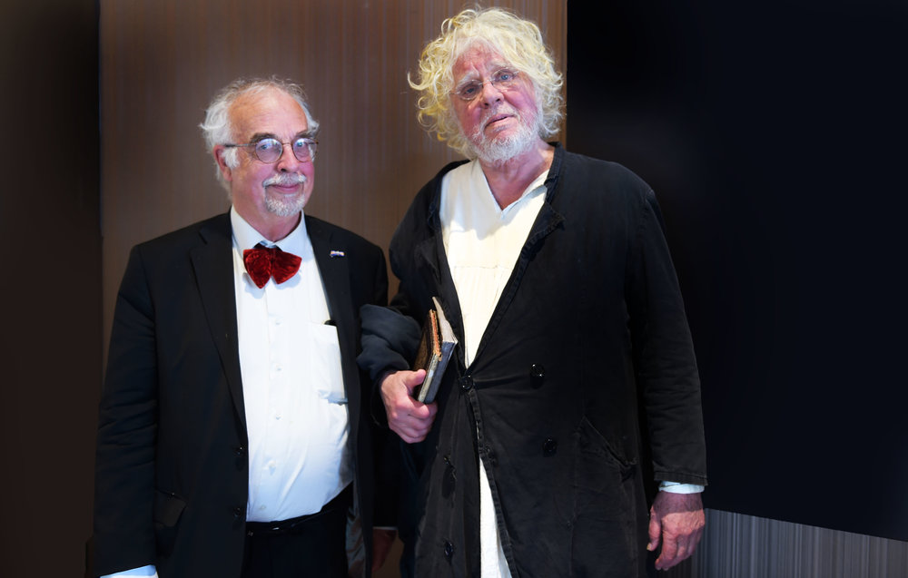 Tom Hageman and Odd Nerdrum - photo © Xandra Donders