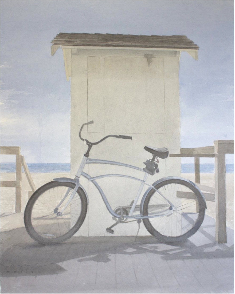 "Mario Robinson   Cruiser  | watercolor on paper | 22.25"" x 18"" | 2016"