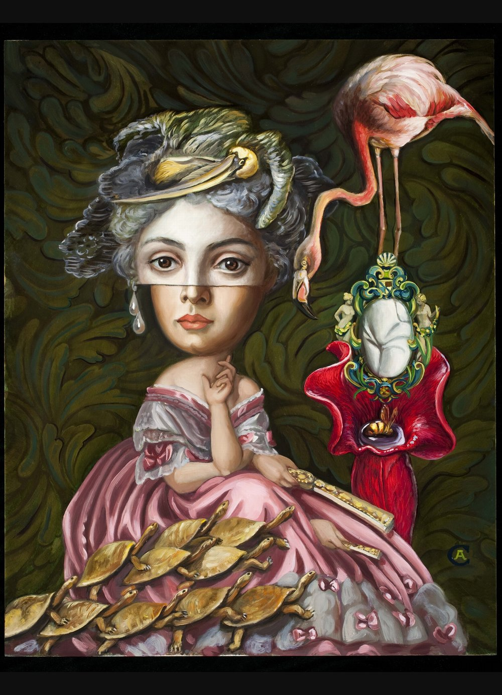 """The Involuntary Thoughts of Madam Cecilia Devereux   