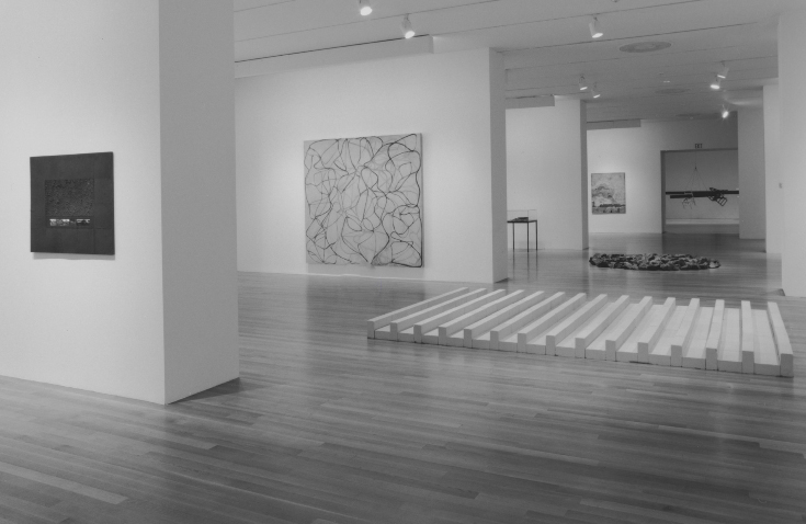 "Installation view of the exhibition, ""On the Edge: Contemporary Art from the Werner and Elaine Dannheisser Collection"" September 29, 1997–January 20, 1998. Photographic Archive. The Museum of Modern Art Archives, New York. Photograph by Thomas Griesel."