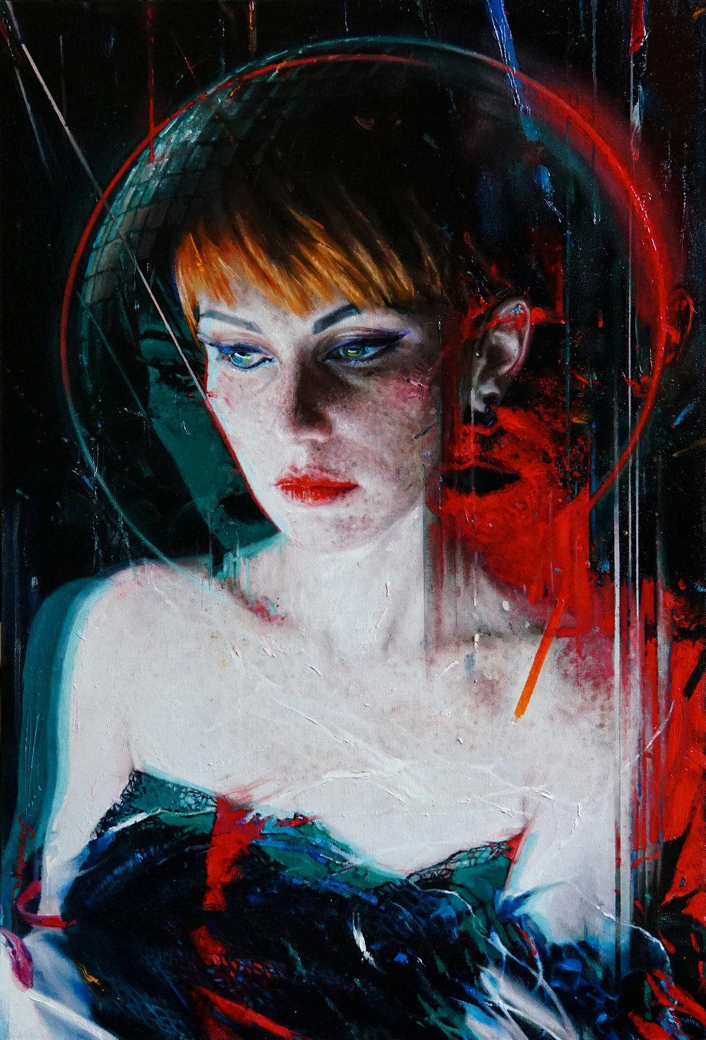 Viktoria Savenkova |  Inner Space     Available on Artsy