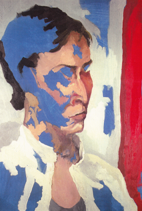 Blue Angela  | oil on canvas | 36 x 24 inches | 2004