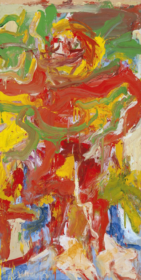 Willem de Kooning |  Red Man with Moustache  | 1971