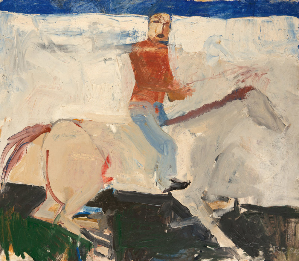 Richard Diebenkorn |  Untitled Horse and Rider  | 1954
