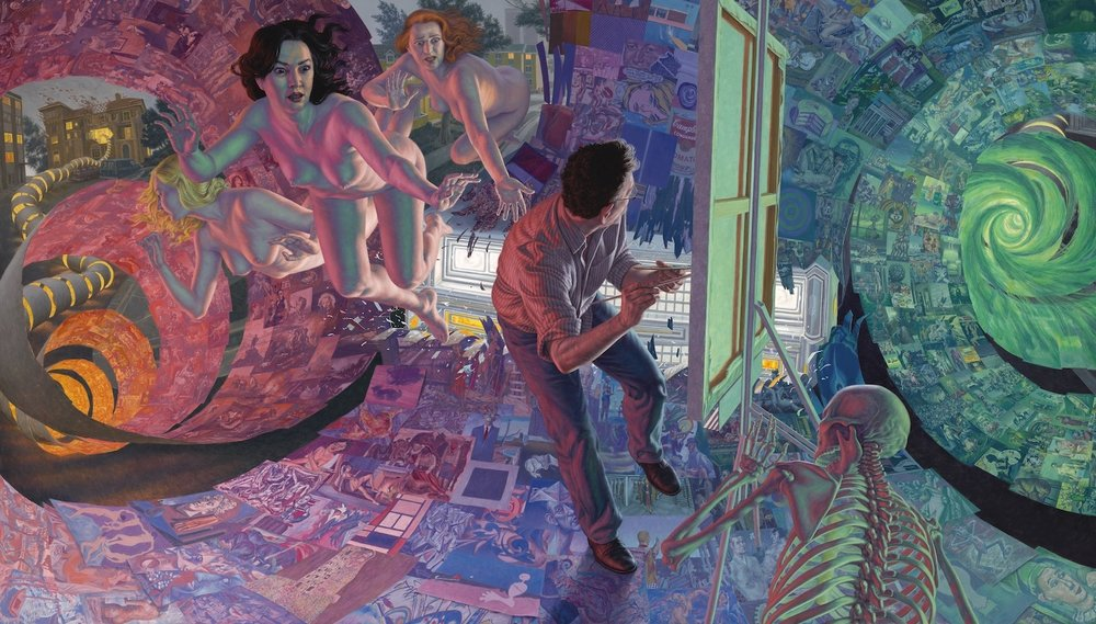 F. Scott Hess |  The Dream of Art History  | oil on canvas