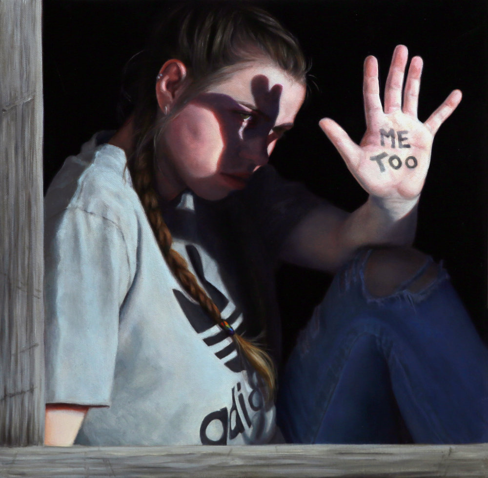 Janne Kearney |  Me Too  | oil on linen