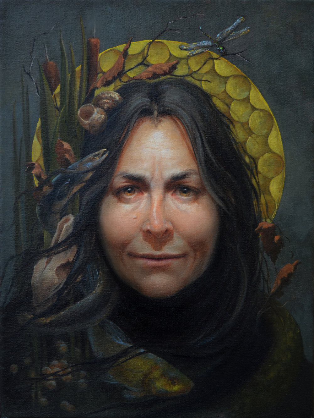 Melinda Borysevicz, Our Lady of the Riverbed, oil on linen, 16x12%22, 2017-2018. jpg.jpg