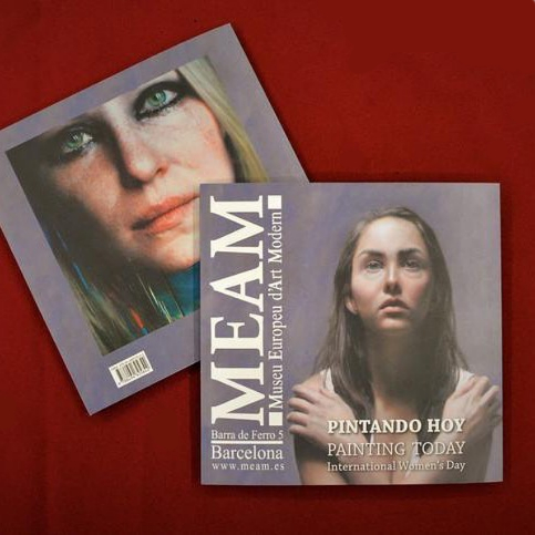 Catalog of the exhibition  Painting Today , International Women's Day of the European Museum of Modern Art (MEAM). Total of 96 pages, introduction by Didi Menendez, and biographies of the exhibiting artists, €9.