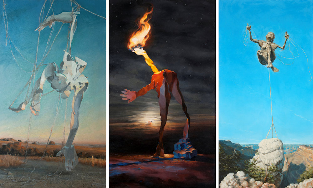 Guy Kinnear -  Hanging, Torch  &  Maryfaith