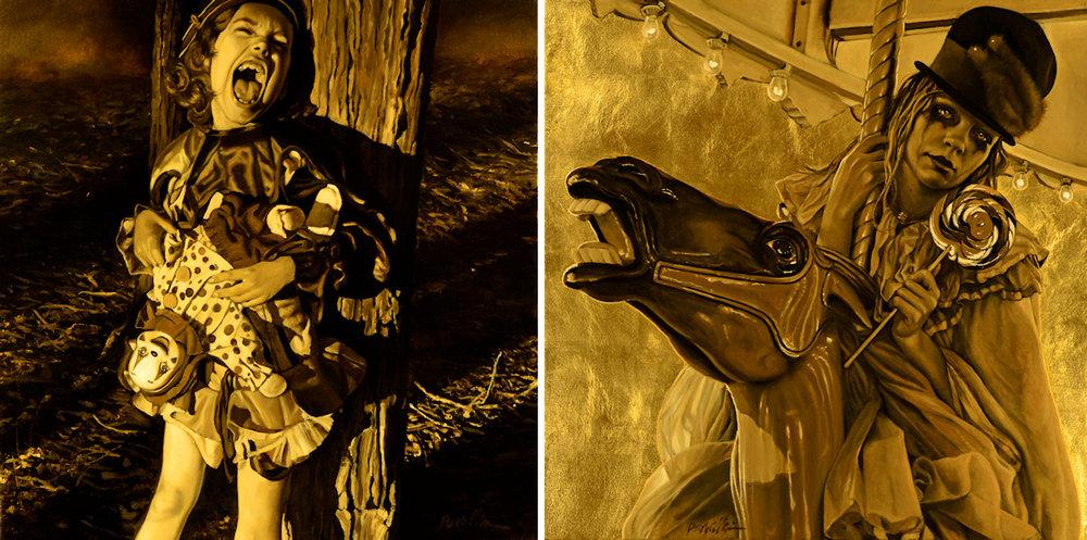 Pamela Wilson -  Unquiet  &  Dazzling Dark