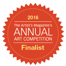 "THE  ""ARTIST MAGAZINE "" 33rd ANNUAL ARTIST COMPETITION - FINALIST - 2016"