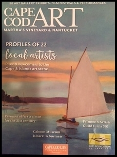 "CAPE COD ART - ANNUAL ISSUE -2016   ""AN ARTIST PROFILE""  JANE MARIE MANCO - ARTIST"