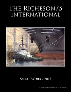 PUBLISHED IN THE 2017 RICHESON75 INTERNATIONAL /  SMALL WORKS COLLECTION BOOK 2017