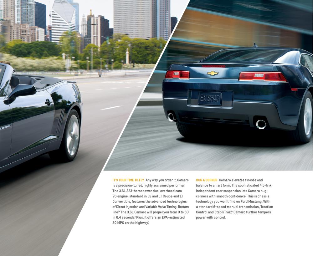 2014 Chevrolet Catalog Example