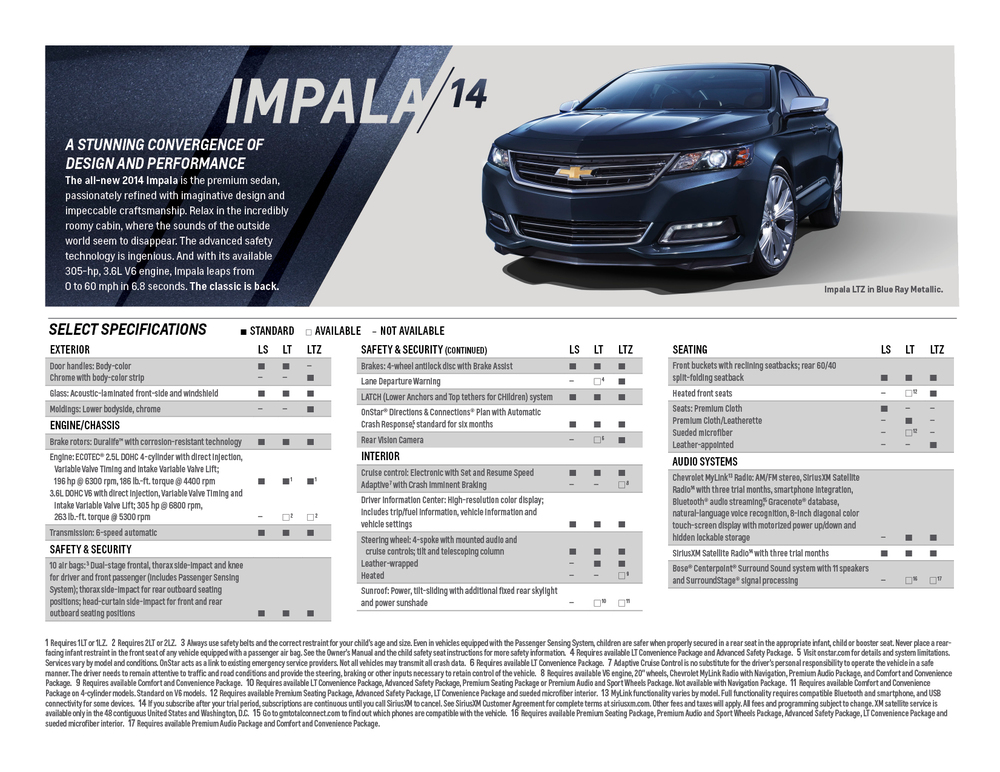 2013 And 2014 Chevrolet Catalogs Ben Luckett