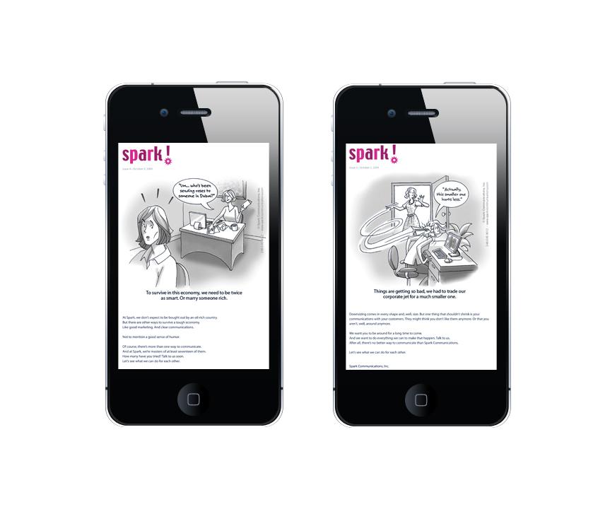 Spark! Communications eBlast Campaign