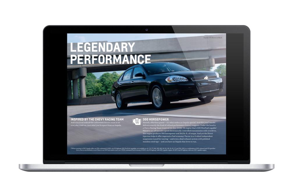 2013 Chevrolet eBrochure Example