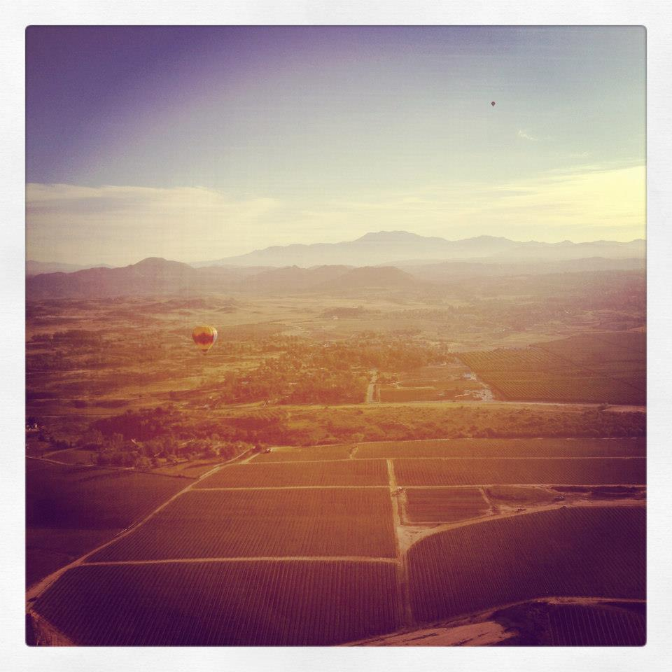 yay hot air balloons...and instagram!