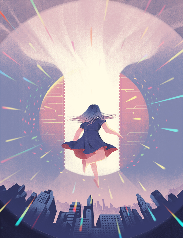 """""""The Girl Who Leapt Through Time""""  Client: Planadviser 