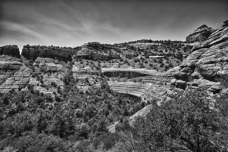 At the Canyon Wall