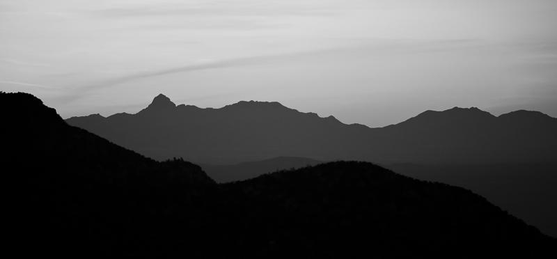 Warm Evening Air Monochrome
