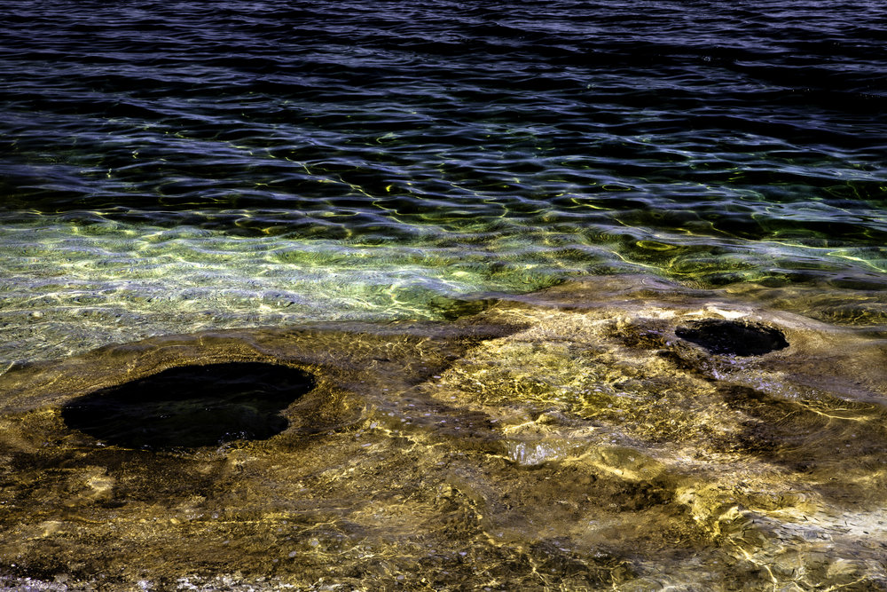 Underwater Geysers