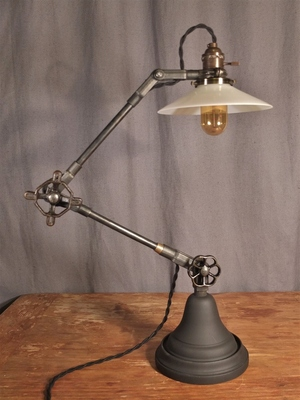 industrial desk lamp. Vintage Industrial Table Lamp Desk