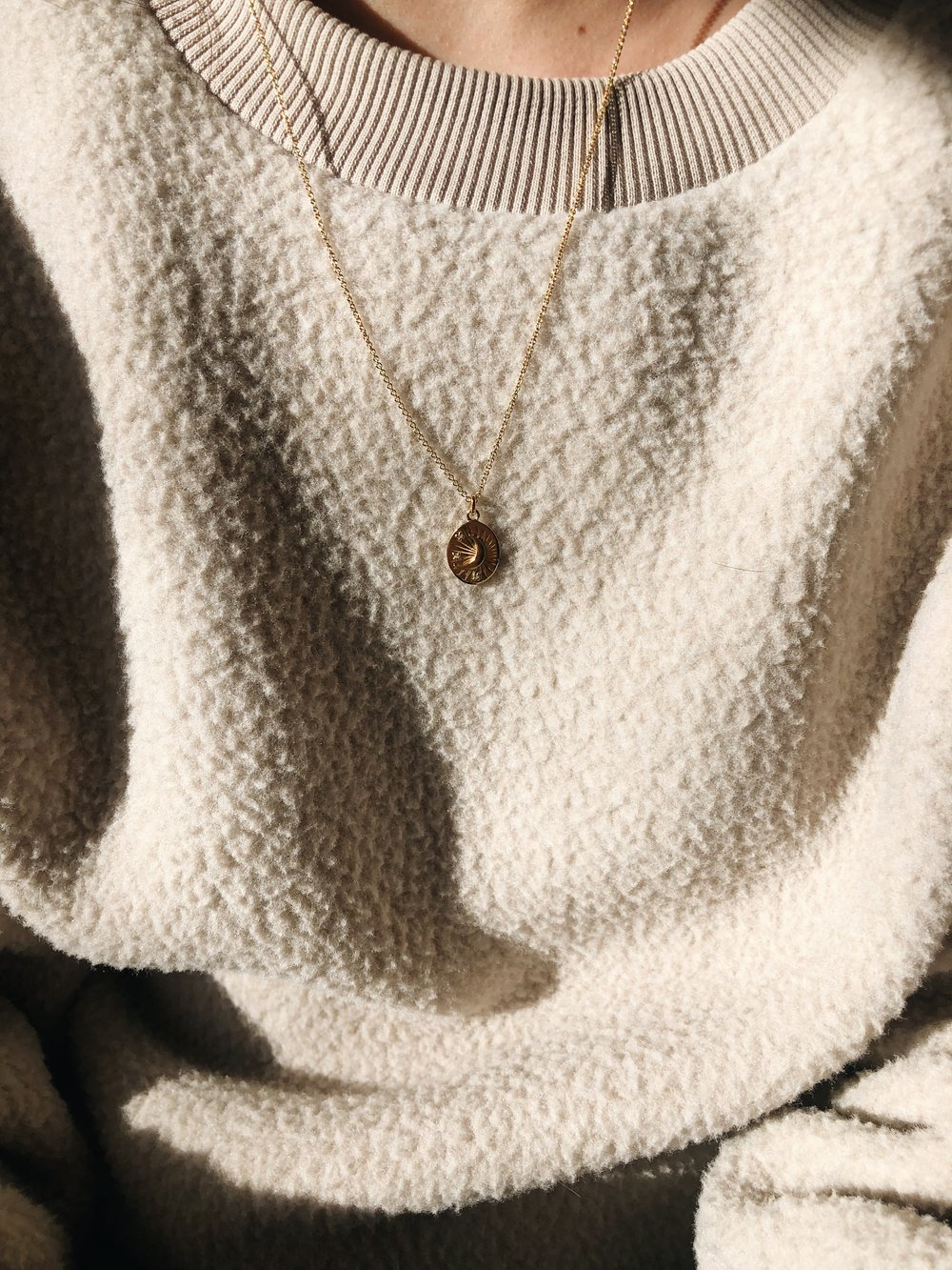 Everlane_Renew_Fleece_Mejuri_Necklace