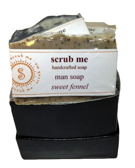 Man soap gift set