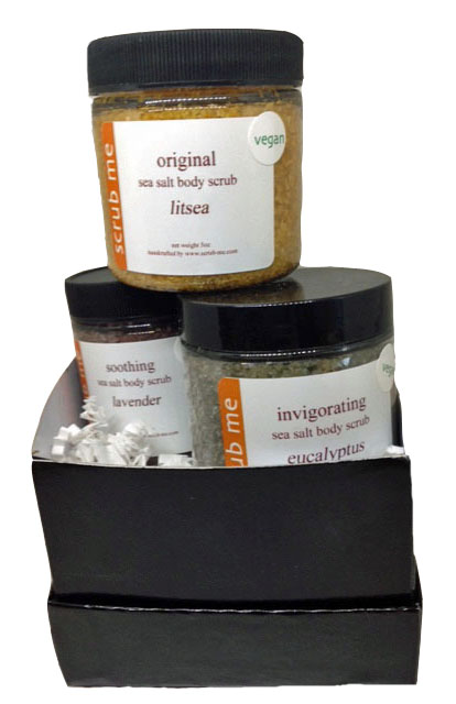 Signature scrub gift set