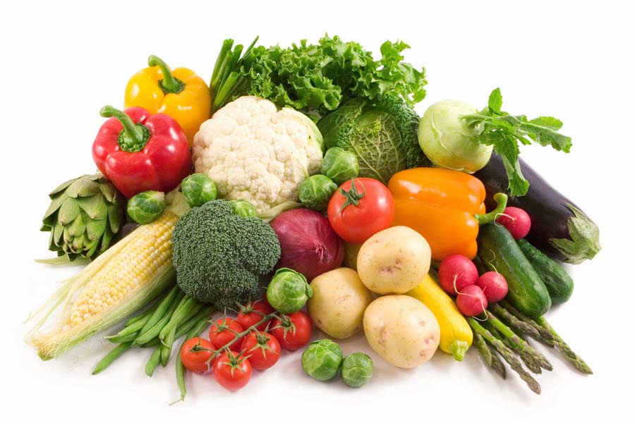 Veggies aren't just great for your waistline, they also pack a punch of vitamins and nutrients the skin needs to stay healthy.