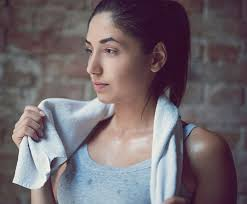 Sweat may affect skin if proper measures aren't taken.