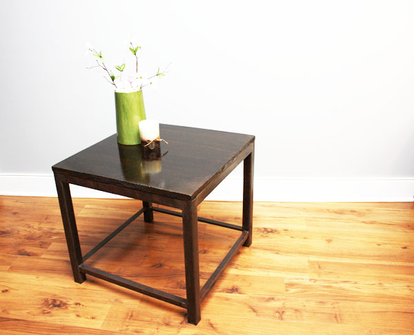 Industrial Concrete End Table
