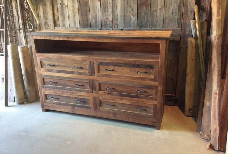 Reclaimed Wood Dresser - Reclaimed Wood Dresser - WHAT WE MAKE
