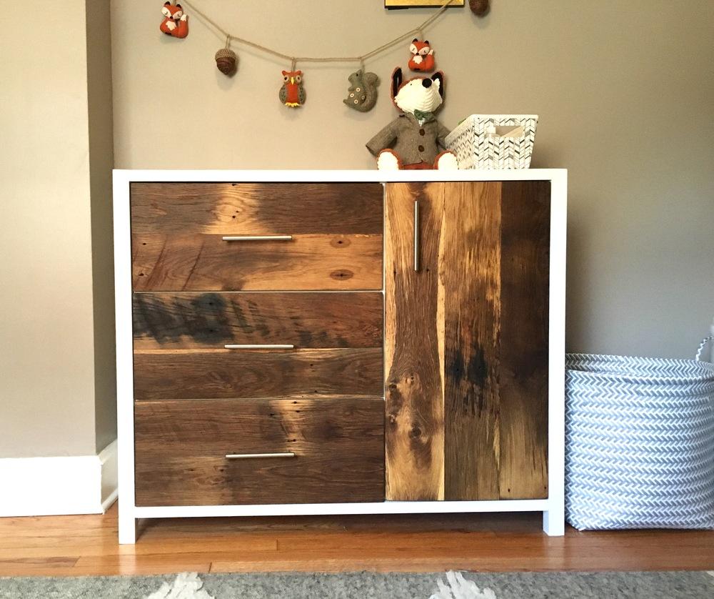 Reclaimed Wood Nursery Dresser