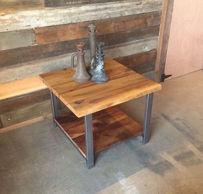 Gentil Reclaimed Timber End Table
