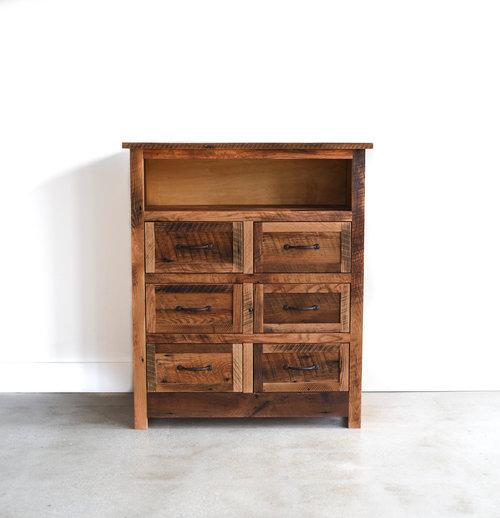 Small 6 drawer drssr 1 jpg. Reclaimed Wood Bedroom Furniture   Reclaimed Barn Wood Dressers