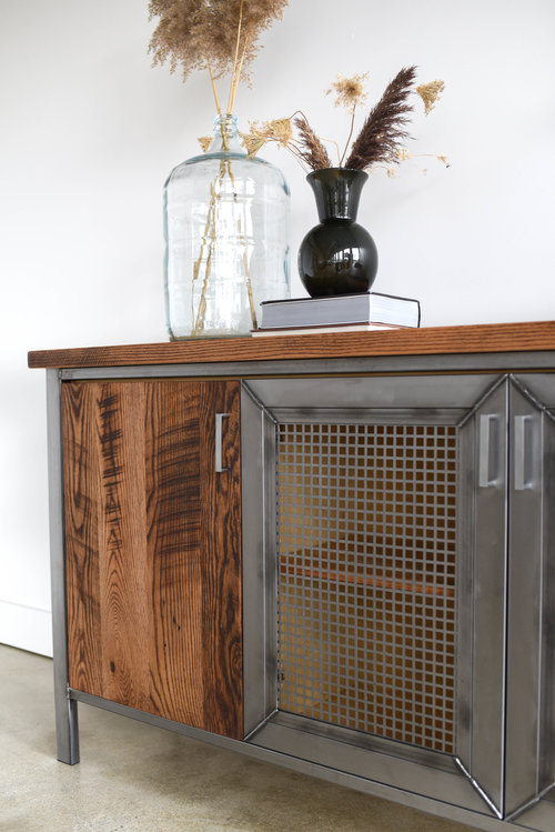 Custom Reclaimed Wood Furniture - Custom Barn Wood Furniture — WHAT ...