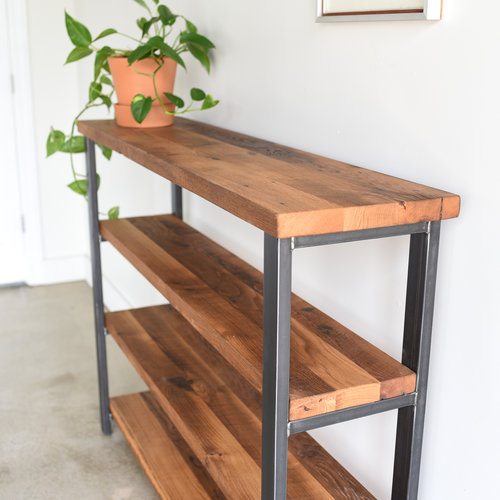 Reclaimed Barn Wood Bookshelf