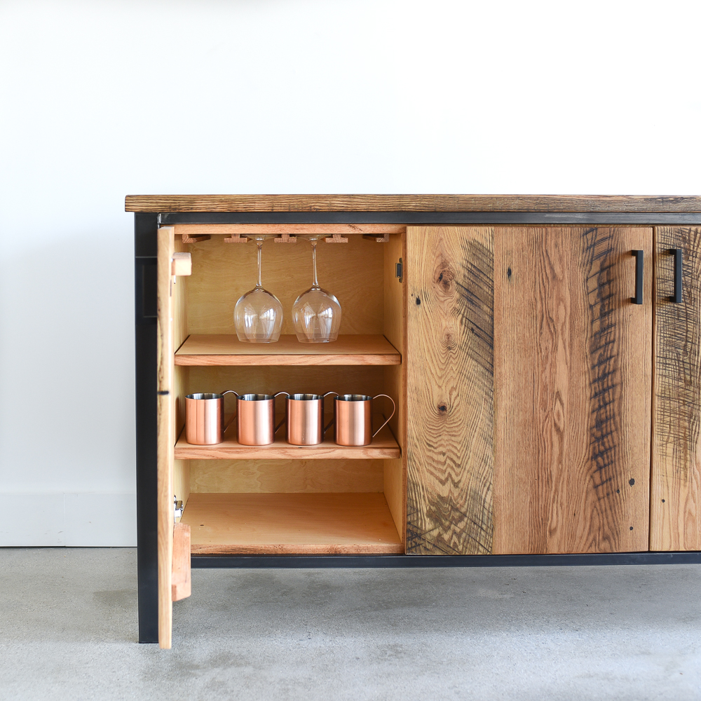 Modern Reclaimed Wood Storage Buffet & Modern Reclaimed Wood Storage Buffet - WHAT WE MAKE
