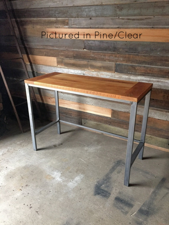 Superieur Counter Height Reclaimed Wood Kitchen Table / Pub Table