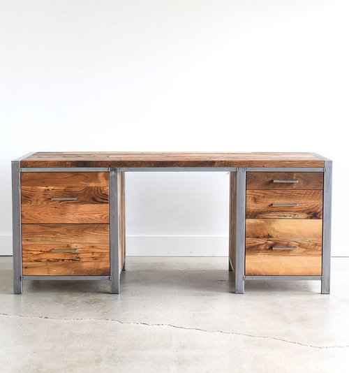 Reclaimed Wood Office Furniture Barn Wood Office Furniture WHAT Cool Modern Wood Office Furniture